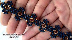 Beaded Bracelets Tutorial, Diy Bracelets Easy, Bead Loom Bracelets, Beaded Bracelet Patterns, Bracelet Crafts, Handmade Bracelets, Earrings Handmade, Beaded Jewelry Designs, Bead Jewellery
