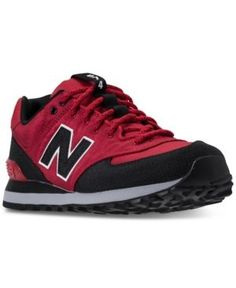 New Balance Men's 574 Outdoor Escape Casual Sneakers from Finish Line - Red 11.5