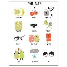 "Laura Berger ""Good Pairs Notecard"" | Art Star"