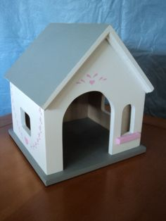 Dog House for your American Girl Dolls doggie by btcrafts on Etsy