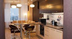 кухня-гостиная 12 м: 9 тыс изображений найдено в Яндекс.Картинках