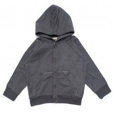 Cardigan sweater dark grey
