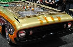 Car Pool Table & other kick butt stuff: 28 Cool Things Only a Guy Would Understand from Team Jimmy Joe.