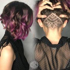 Undercut Hair Tattoos - Frisuren Magazin