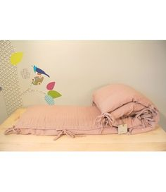 PARACOLPI PER LETTINO DUSTY PINK - N° 74 - Kiddy Kabane
