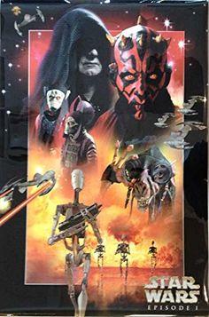 Star Wars: Episode I - The Phantom Menace - Authentic Original 24 x 36 Movie Poster @ niftywarehouse.com