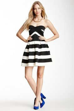 Strapless Textured Dress by BLVD on @HauteLook