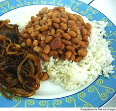 My son misses brazil and the beans and rice- He was so excited to see this recipe!