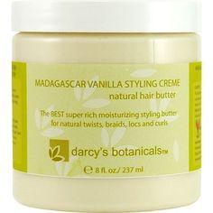 Darcy's Botanicals Madagascar Vanilla Styling Cream