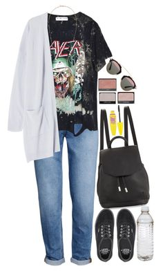 """""""278"""" by theodora-manesca ❤ liked on Polyvore featuring H&M, rag & bone, Vans, Isabel Marant, NARS Cosmetics, Maybelline and Christian Dior"""