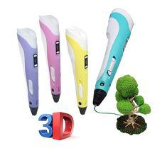 Bolígrafo Impresión 3D con Pantalla LCD y Ajuste de Velocidad y Temperatura (Pluma amarilla): Amazon.es: Juguetes y juegos 3d, Beauty, Printers, Yellow Girl Nurseries, Feathers, Impressionism, Toys, Games, Cosmetology