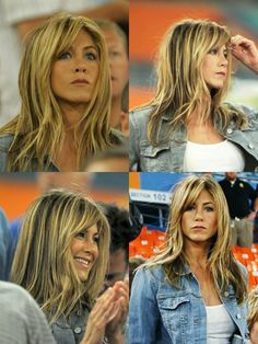 Jennifer Aniston Pictures, Jennifer Aniston Style, Jenifer Aniston, Work Hairstyles, Hair Brained, Good Hair Day, Shiny Hair, Layered Hair, Hair Dos