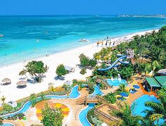 Aerial view from Beaches Negril www.vowtotravel.com Book a well deserved getaway today!