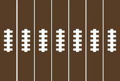 Football_paper_chain - free printable