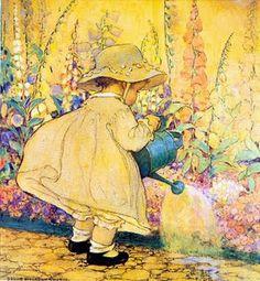 sweet vintage illustration