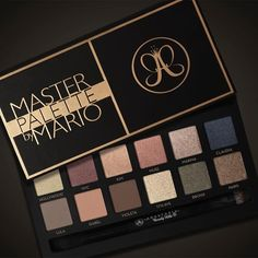Anastasia Master Palette by Mario for October 2016