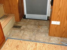 Our RV Flooring Replacement  With Allure Vinyl Tile  Makes a HUGE Difference in Our Rig