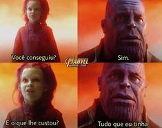 Filme: Vingadores - Guerra Infinita, 2018.