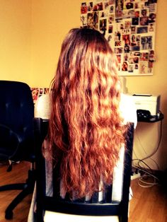 Long hair <3 .