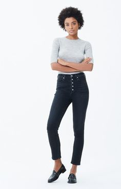 NWT $238 Citizens of Humanity Olivia High Rise Jeans in Backroad; 24 25 26 29
