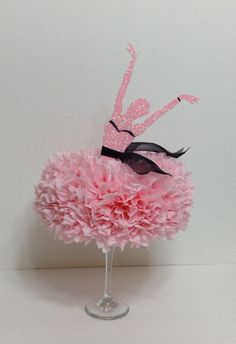Ballerina Centerpiece Table Centerpiece by BasketsFromAtoZ