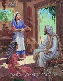 Jesús, María y Marta
