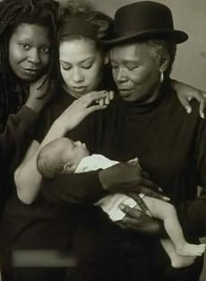 Generations ~ Whoopie, Daughter, Mom and Grand..beautiful pic.