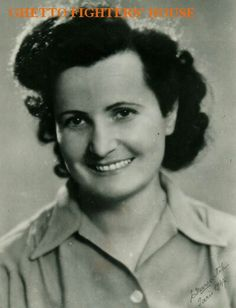 Lena Kuechler - Silberman.  Photographed following WWII. Note:  Lena Kuechler - Silberman (in English- language publications: Lena Kuchler) was born in January 1910 in Wieliczka near Krakow. She attended a Hebrew - language gymnasiya (academic secondary school) and graduated in Philosophy at the university in Krakow, majoring in Psychology and Education. Before the war she was a teacher in a Jewish school in Bielsko and also taught in a teacher training seminary. During the war, with an…