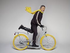 pibal bicycles by philippe starck & peugeot