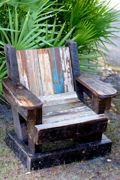 Reclaimed Beadboard Adirondack Chair Child by shopoliviacharles, $148.00
