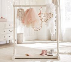 Blythe Wardrobe Rack | Pottery Barn Kids