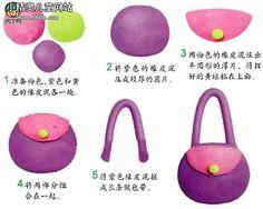 .Fondant táska készítése Alapanyagokat , ételfestékeket vásárolj a GlazurShopban! http://shop.glazur.hu