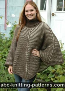 ABC Knitting Patterns - Seamless Brioche Girl Dress