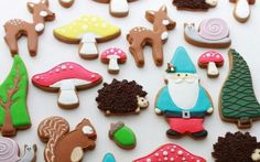 Cute X'mas Sugar Cookies