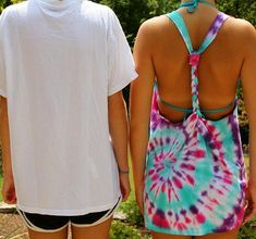 DIY Tie Dye Swimsuit Cover-up Can you believe summer is right around the corner! I came across a DIY (Do it Yourself) tie dye swimsuit cover-up that I absolutely love and have yet to try! Everyone could use a little tie dye in … Tye Dye, Diy Summer Clothes, Summer Outfits, Diy Fashion, Ideias Fashion, Womens Fashion, Punk Fashion, Cheap Fashion, Fashion Rings
