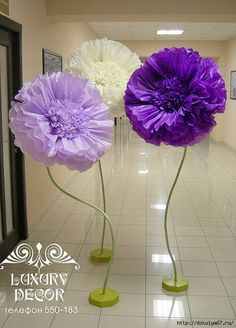 Discover thousands of images about large paper FLOWERS/ to Tissue paper flowers with stem**U pick colors & sizes**Wall Flowers**Photo backdrop**Flower Backdrop Large Paper Flowers, Tissue Paper Flowers, Paper Flower Backdrop, Giant Paper Flowers, Big Flowers, Faux Flowers, Fabric Flowers, Diy Paper, Paper Crafts