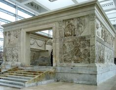 Ara Pacis (Altar of Peace) c. 13-9 BCE, Rome, Italy