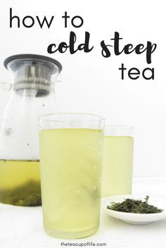 Cold brew coffee is a thing and so is cold steep tea. The cold steep tea (aka cold brew tea) method is similar as it involves making your tea with cold water only, eliminating the water-heating process. Don't confuse it with iced tea as cold steeping tea does not involve any ice but this method is still refreshing and offers many advantages. Since you are using no hot water here, the tea leaves are extracted much slower which may result in a lighter-bodied tea with less astringency and…