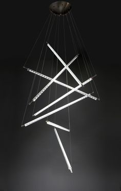 The Ixion disk lamp from Quasar Holland is a creative lighting product by Maurizio Ferrari Suspended Lighting, Linear Lighting, Neon Lighting, Modern Lighting, Lighting Design, Lighting Ideas, Light Art, Lamp Light, Deco Led