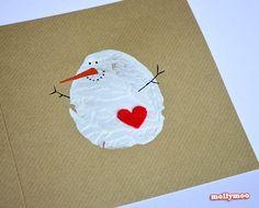 MollyMoo christmas cards kids can make