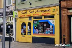 South End Newsagents shop on Wexford's South Main Street.