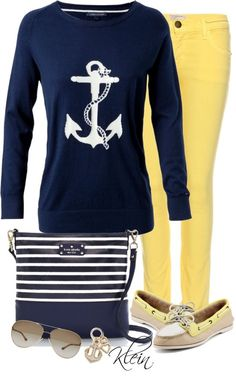 Love this! My two favorites Sperry and kate spade all in one.