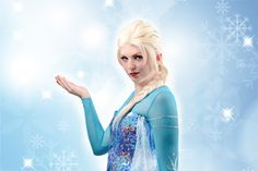 Photoshoot Cosplay. Photo at location and retouch by Penny Lane Communication. Elsa - Frost.
