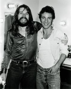 Bob Seger & Bruce Springsteen, Thomas Weschler, 1978, Detroit, Michigan Photo at AllPosters.com