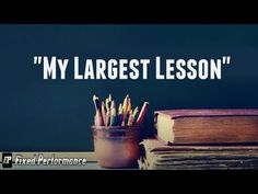 The Largest Lesson that I haved learned about business