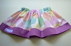 Baby Skirt  size 6-12months by BlueKangarooHandmade on Etsy
