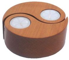 Yin Yang Vanilla Candles - Kauri