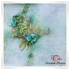 13arts: Layout - Wonderful - by Maryse