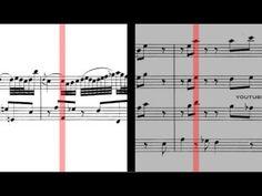BWV 1056 - Harpsichord Concerto in F Minor (Scrolling) - YouTube