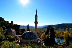 The Hajji Alija #Mosque in #Pocitelj was built in 1563. In 17th century the mosque was repaired by Sisman Ibrahim pasha and since than has been known like Sisman Ibrahim Pasha Mosque. The town Pocitelj was for the first time mentioned in written records in 1444 it is assumed that it was built by #Bosnian King Tvrtko in 1383.  Not to miss if you are in #Herzegovina   #likebosnia #bosniaandherzegovina #wanderlust #backpacking #ourplanetdaily #natgeotravel #lonelyplanet #wonderful_place…